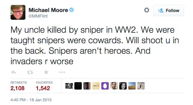 Moore Tweet